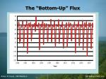 the bottom up flux