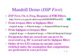 mandrill demo dsp first12