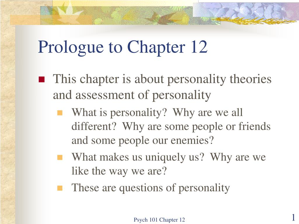 prologue to chapter 12 l.