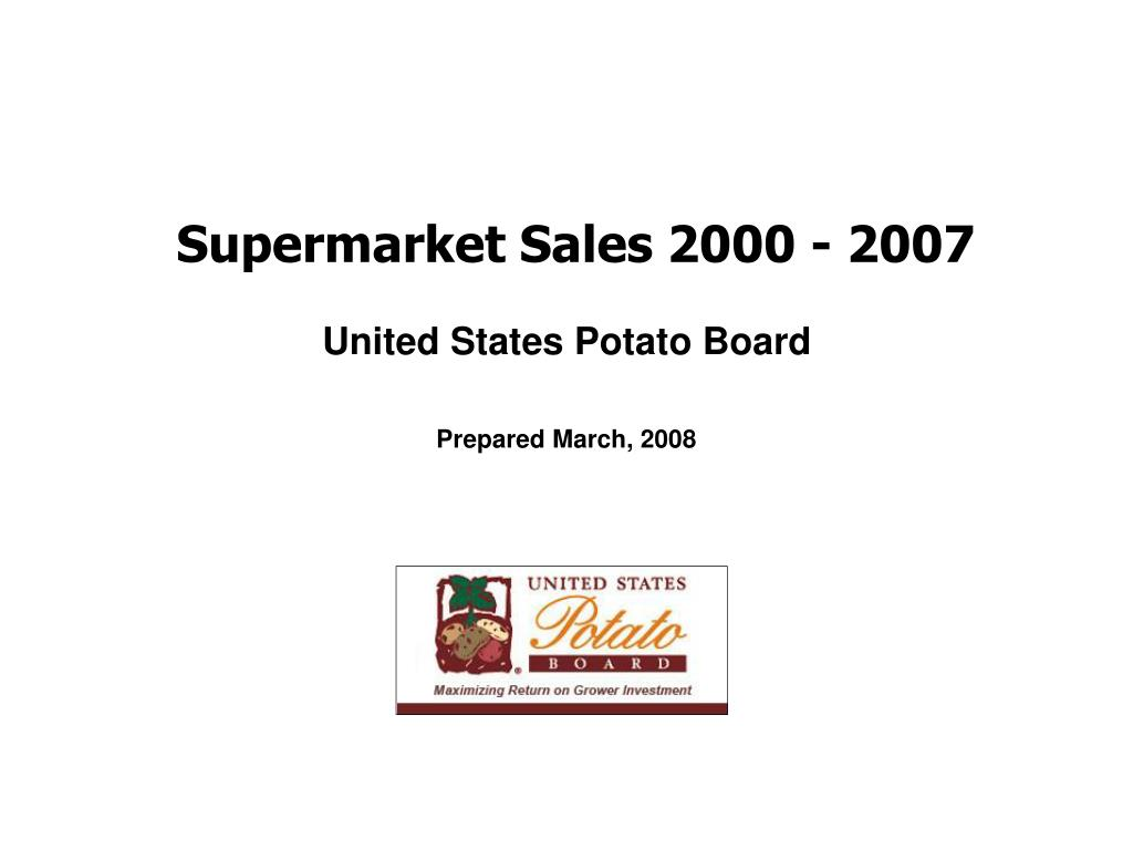 supermarket sales 2000 2007 l.
