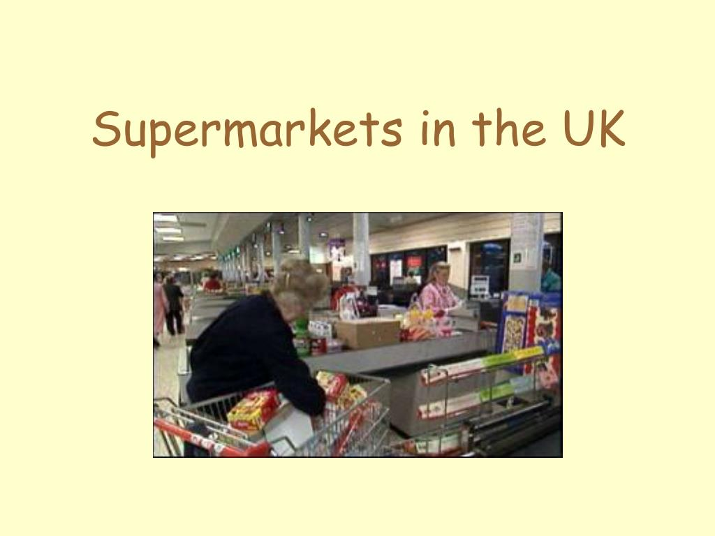 supermarkets in the uk l.