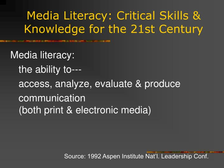 literacy for the 21st century pdf
