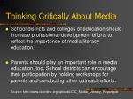 thinking critically about media25