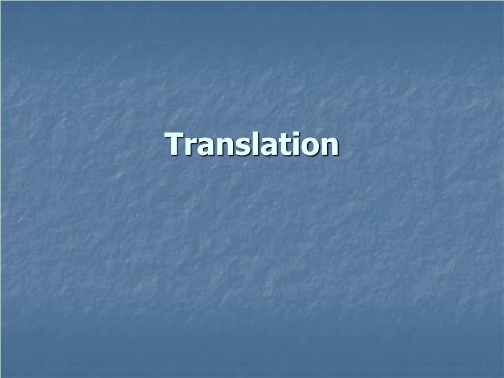 translation l.