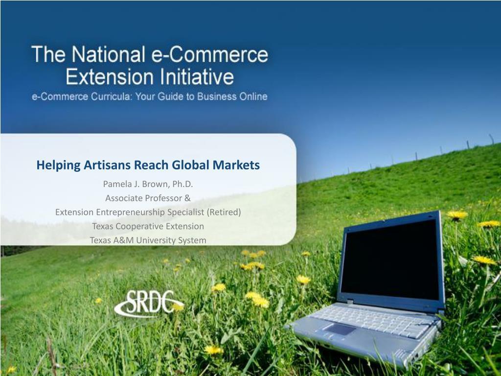 helping artisans reach global markets l.
