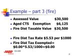 example part 3 fire