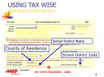 using tax wise must enter on nys tax form