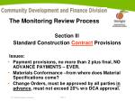 the monitoring review process7
