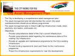 city asset management plan
