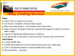 utility trading services