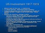 us involvement 1917 1919