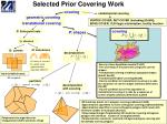 selected prior covering work
