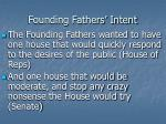 founding fathers intent
