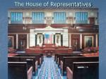 the house of representatives6