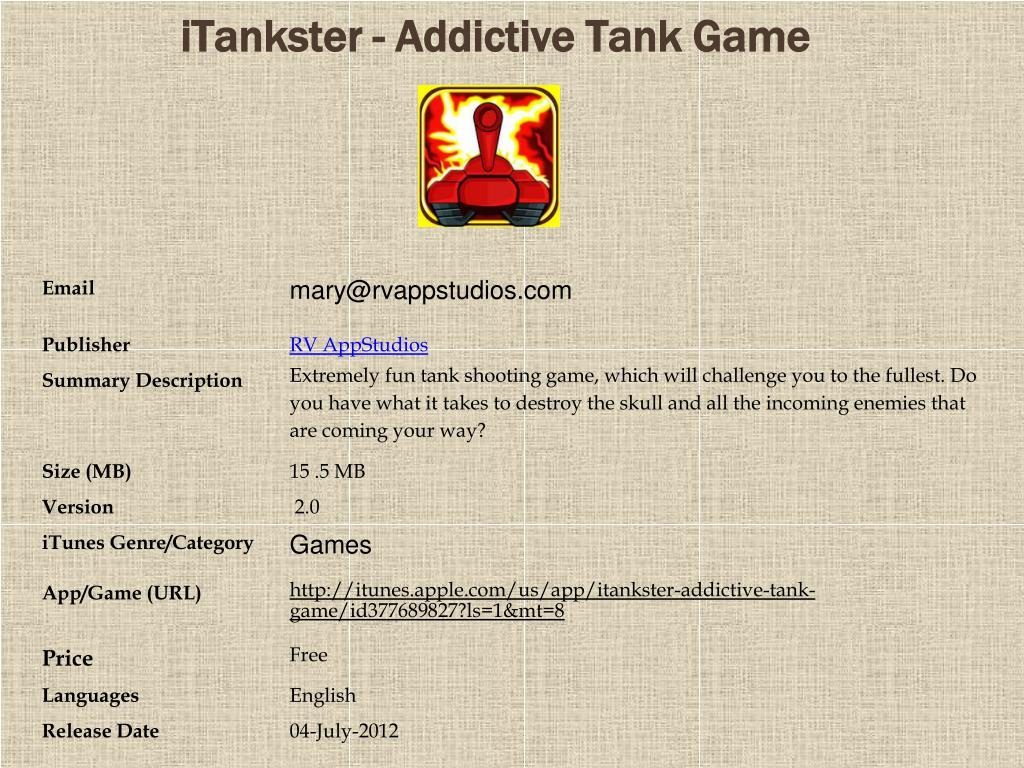 itankster addictive tank game l.