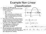 example non linear classification