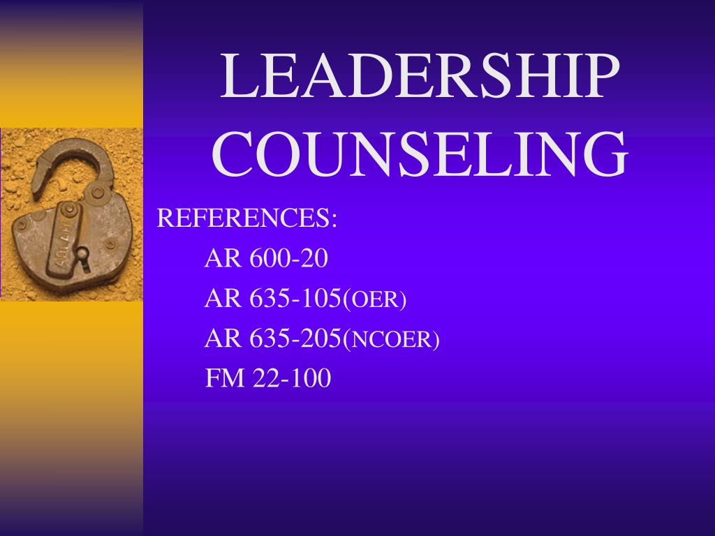 leadership counseling l.
