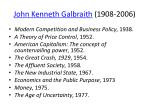 john kenneth galbraith 1908 2006