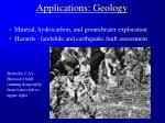 applications geology31