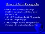 history of aerial photography3