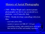 history of aerial photography4