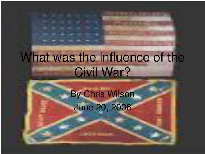 what influenced the post civil war Watch video  echoes of the civil war still reverberate in this nation here are eight ways the civil war indelibly changed the united states and how we live today.