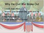 why the civil war broke out