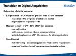 transition to digital acquisition10