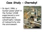 case study chernobyl