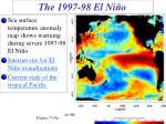 the 1997 98 el ni o
