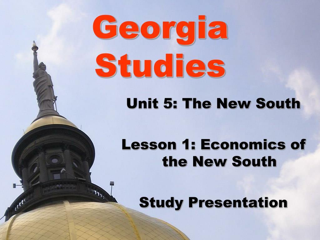 georgia studies l.