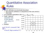 quantitative association rules