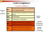 cadre budg taire21