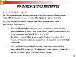 processus des recettes35