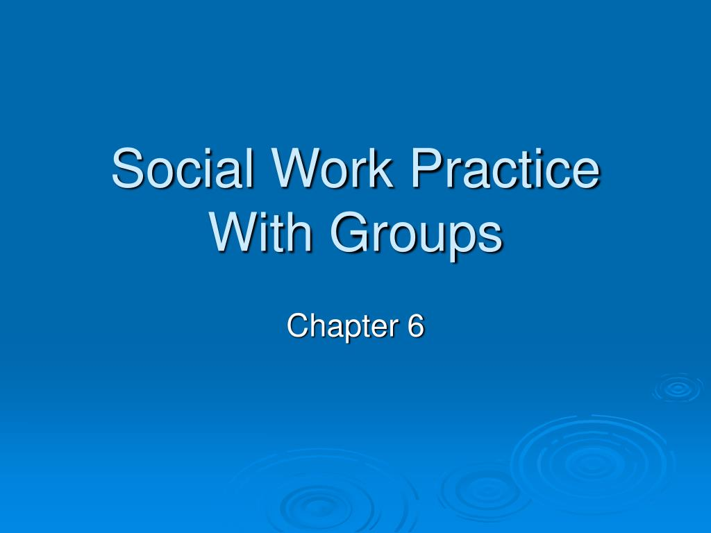 social work practice with groups l.