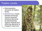 trophic levels66