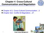 chapter 4 cross cultural communication and negotiation