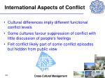 international aspects of conflict34