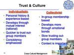 trust culture