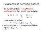 relationships between classes47