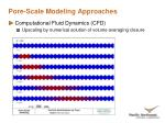pore scale modeling approaches12