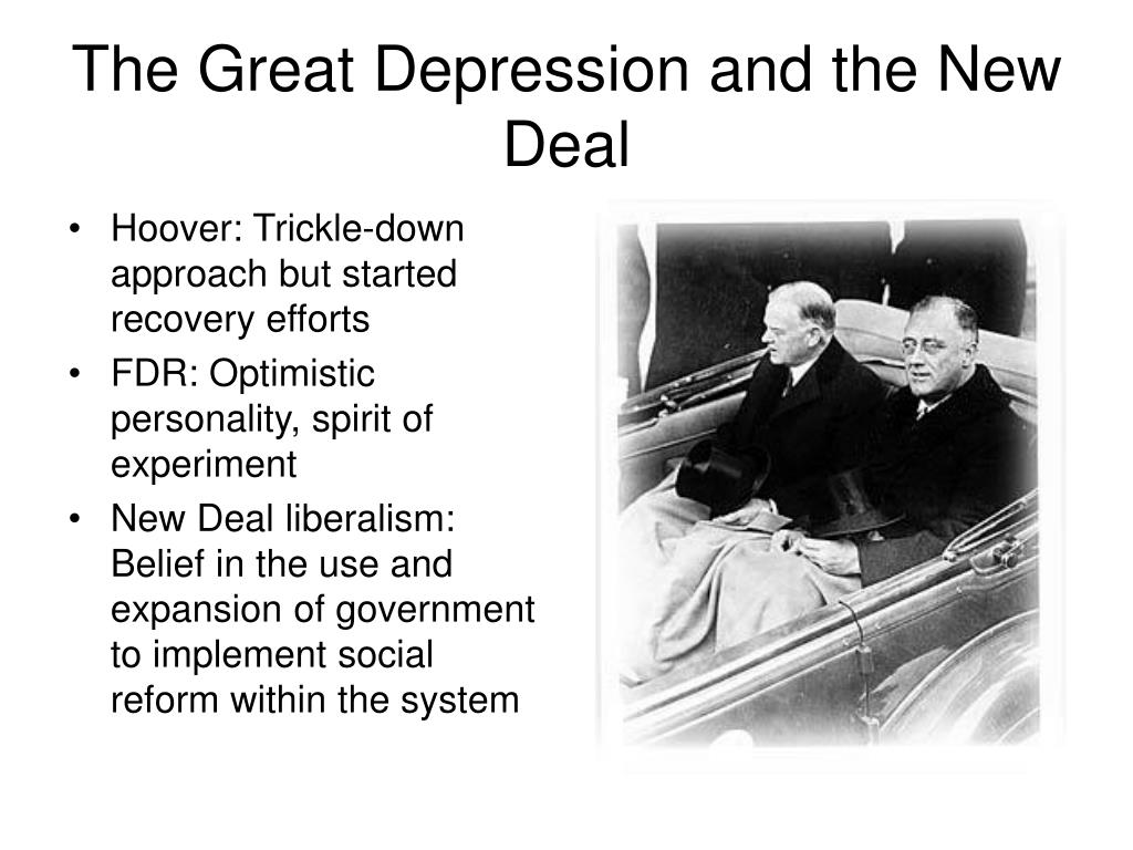 the great depression and the new deal l.