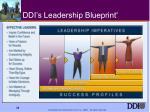ddi s leadership blueprint