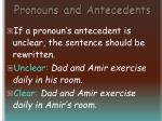 pronouns and antecedents63