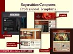 superstition computers professional templates