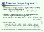 iterative deepening search30