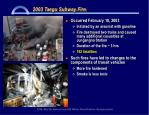 2003 taegu subway fire