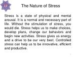 the nature of stress