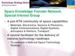 space knowledge transfer network special interest group