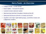 kerry foods an overview